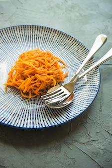 パスタと有機食品のコンセプト
