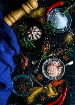料理のコンセプトとしてのスパイス