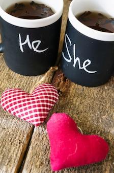 Чай на день святого валентина