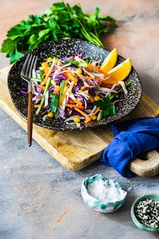 有機野菜と健康食品のコンセプト