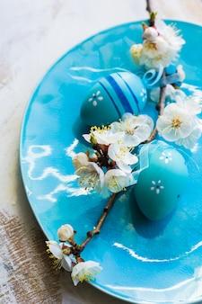 Концепция весны с цветением персика