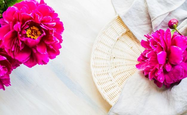 Летняя цветочная концепция