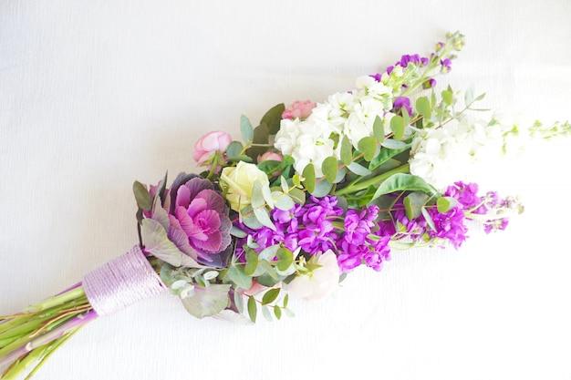 美しい夏の花束