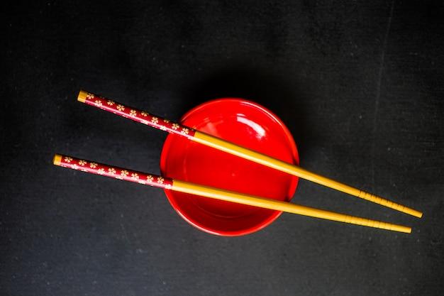 赤のテーブル設定