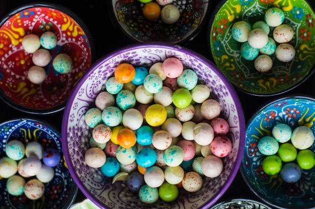 Традиционная турецкая закуска леблеби