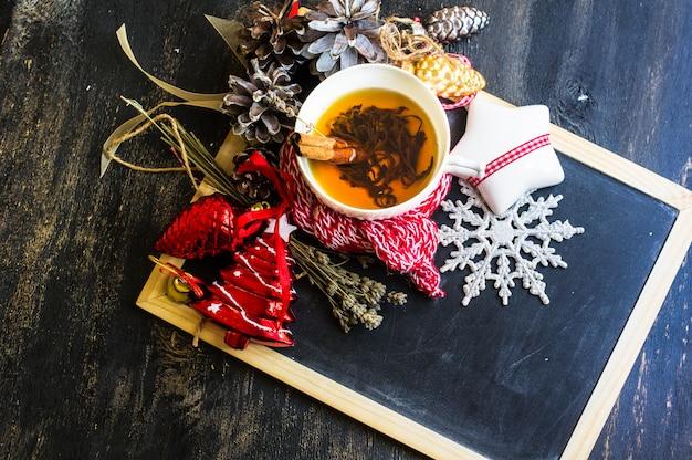 Рождественская чашка чая