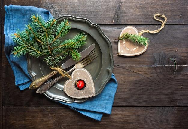 クリスマスの装飾の概念
