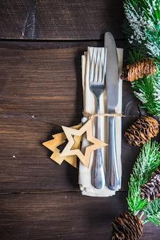 クリスマステーブルデコレーション