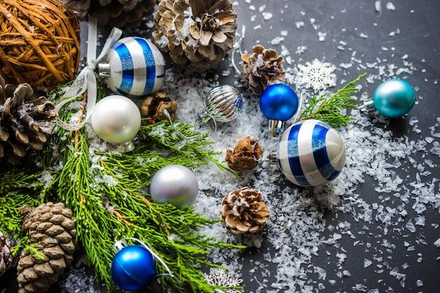 Рождественский праздничный декор