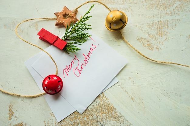 Рождественская праздничная рамка