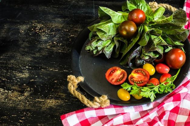 夏のサラダ用野菜