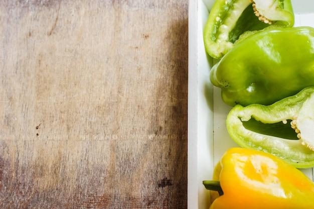 Концепция диеты со свежим перцем