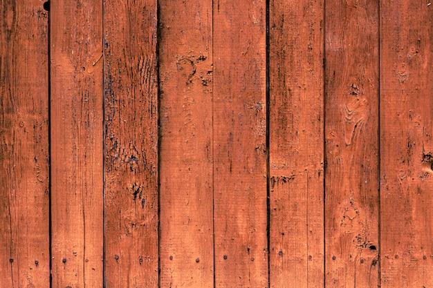 Старая деревянная предпосылка с вертикальными коричневыми досками.