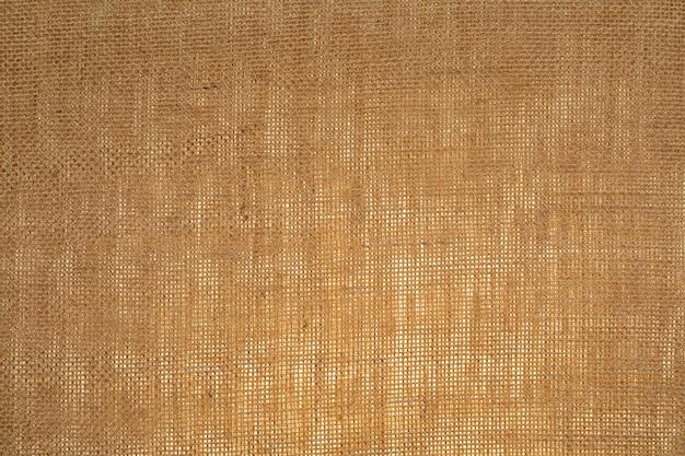 繊維が見える水平の袋のテクスチャ(半透明)。