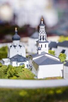Макет белой церкви