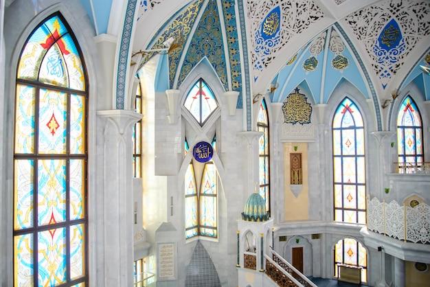カザンのクルシャリフモスクの内部