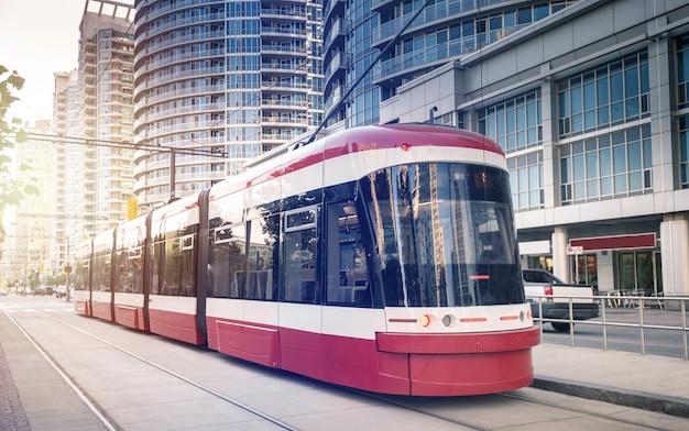 トロント、オンタリオ州、カナダの路面電車