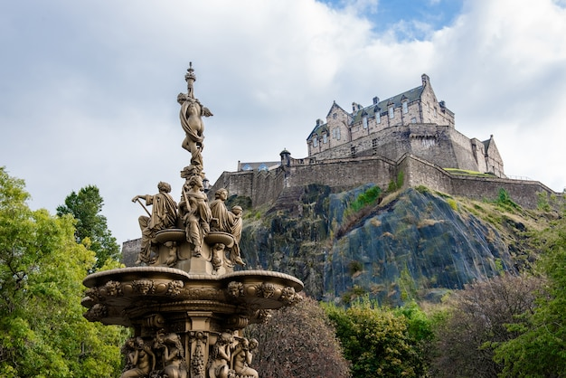 エディンバラ城、スコットランド