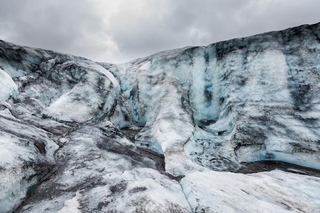 氷河の美しい風景