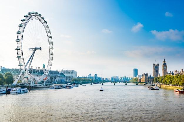 美しいロンドンシティ、イギリス、