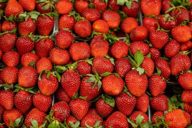 Свежие органические ягоды