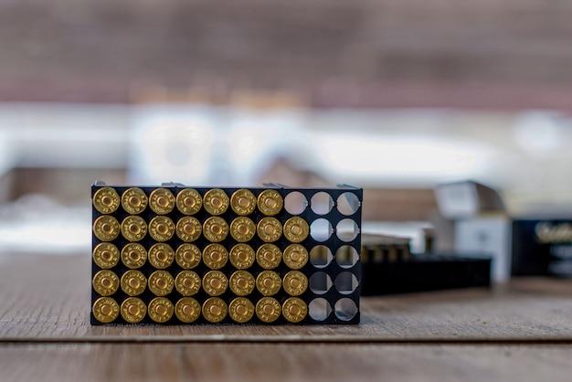 銃弾薬包装。