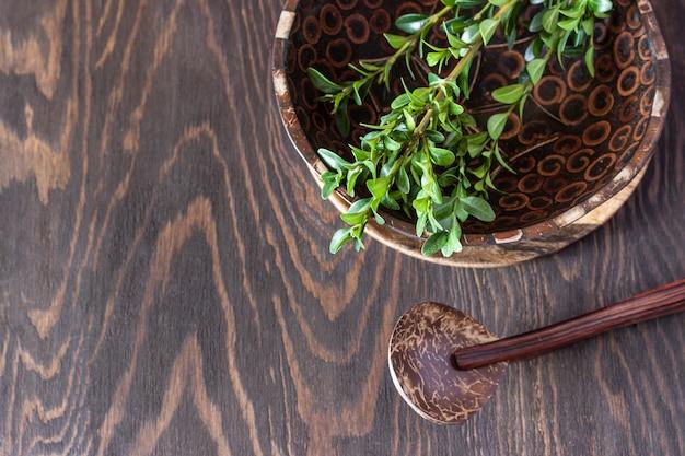 Экологичная посуда из натуральных материалов
