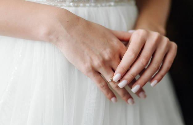 Утренняя подготовка невесты к большому дню