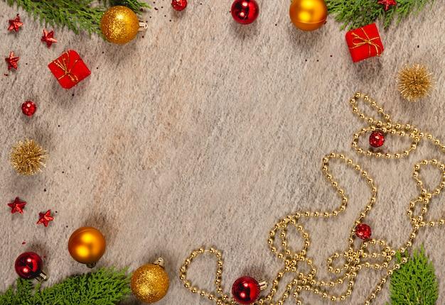 創造的なクリスマス。