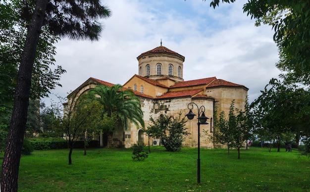 Собор святой софии (аясофья) из трабзона