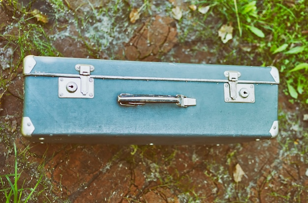 古い旅行スーツケース