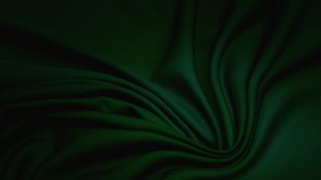 グリーンのレーヨン生地。パターン、背景。