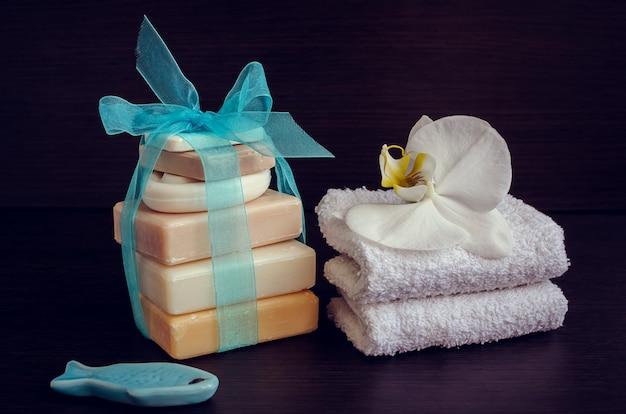 天然石鹸のスパ設定