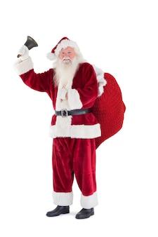 Санта звонит на звонок