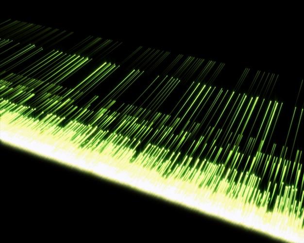 複数の緑色の線の背景