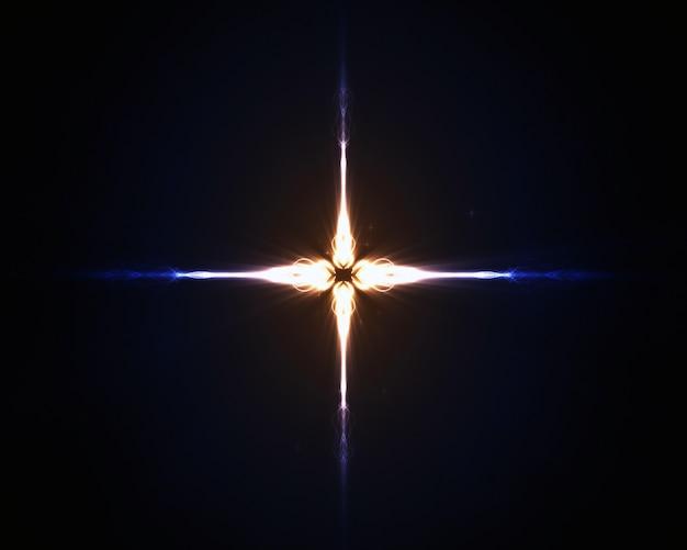 ベージュの星の背景