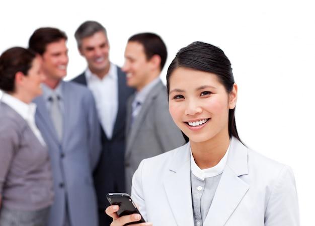 一緒に働く多様なビジネスチームの肖像