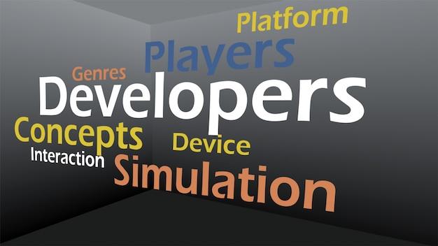 ゲームコンセプトのクリエイティブイメージ