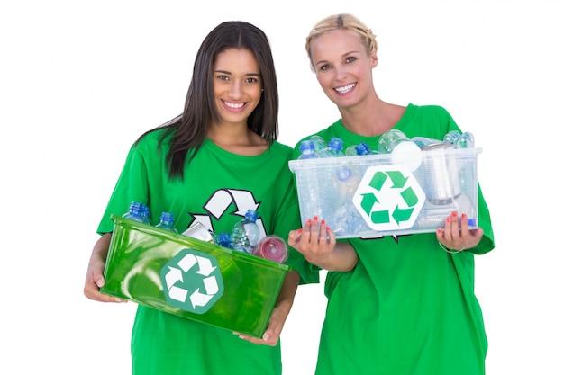 リサイクル可能なボックス