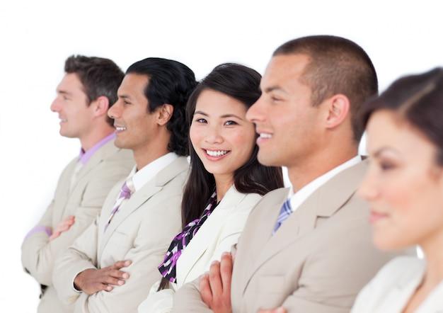 一緒に働く笑顔のビジネスパートナー