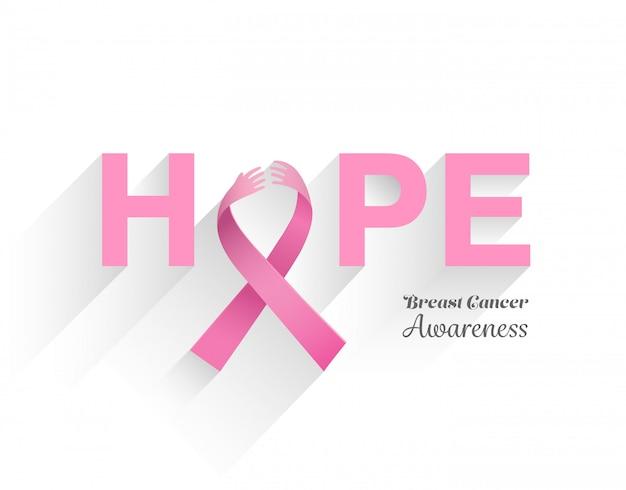 乳がんの意識のメッセージ