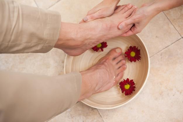 Ножки для ног педикюра