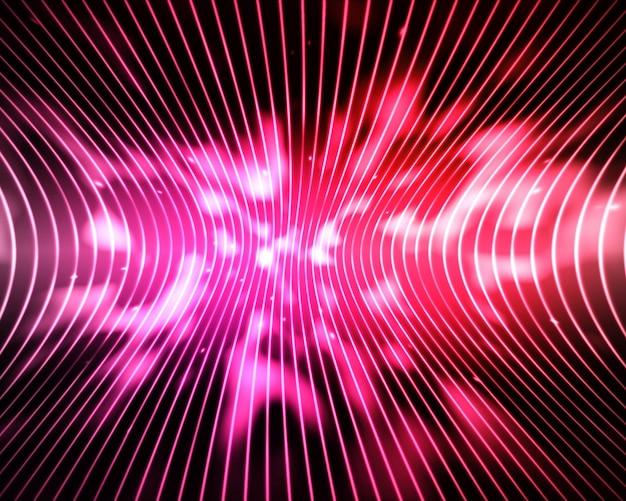 抽象的なピンクと赤の線