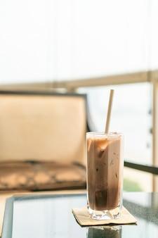 アイスチョコレートココアガラス