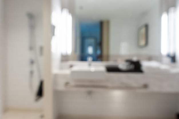 Абстрактный интерьер ванной комнаты для фона