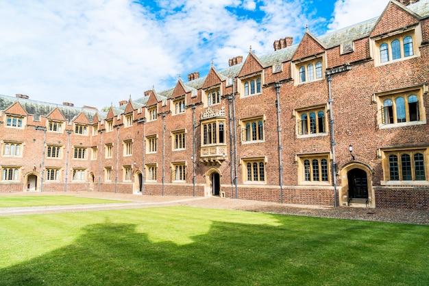 ケンブリッジの美しい建築物セントジョンズカレッジ