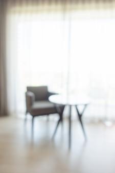 Аннотация размытия интерьер гостиной для фона