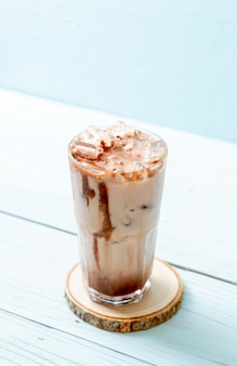 Молочный коктейль со льдом