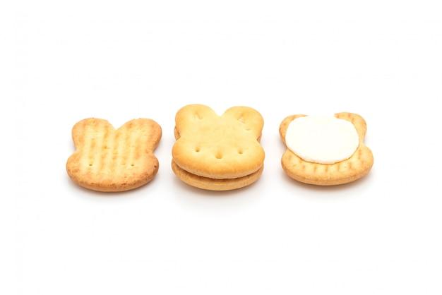 Кроличье печенье со сливками