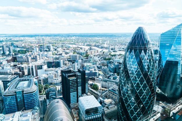ロンドンシティのスカイライン
